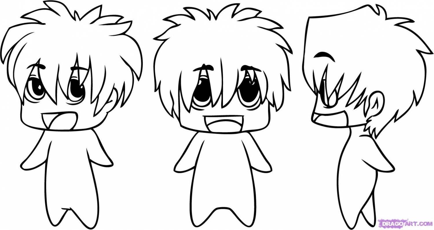 рисуем аниме: