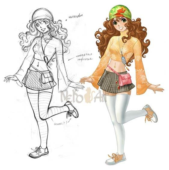 Как научиться рисовать аниме картинки